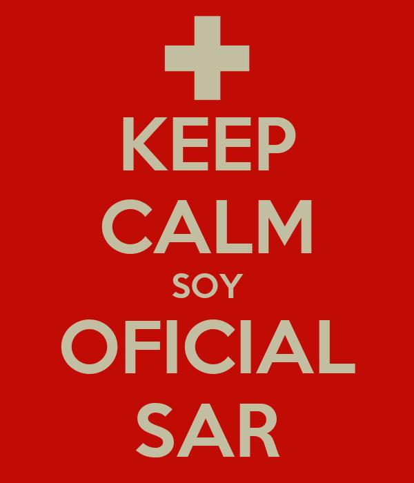 KEEP CALM SOY OFICIAL SAR