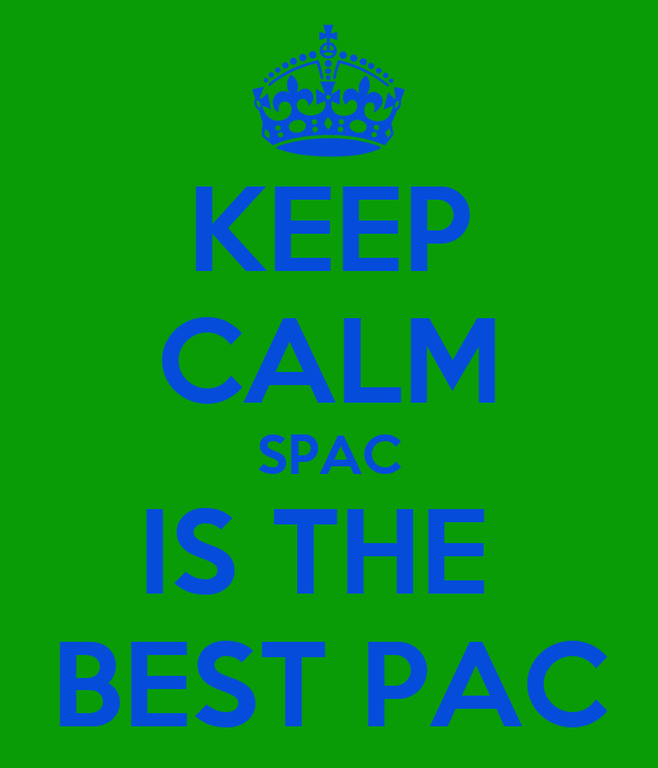 KEEP CALM SPAC IS THE  BEST PAC