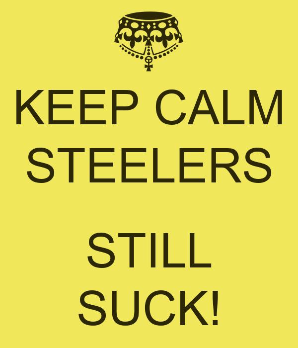 Steelers suck wallpaper
