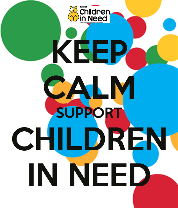KEEP CALM SUPPORT CHILDREN IN NEED