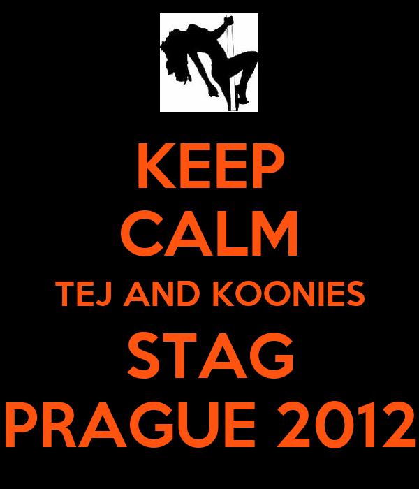 KEEP CALM TEJ AND KOONIES STAG PRAGUE 2012