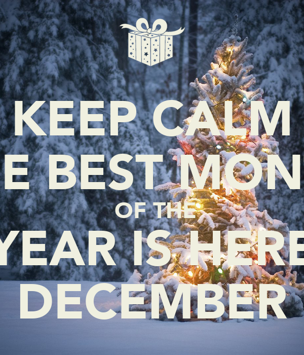 the best month of the year