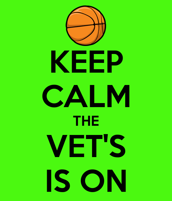 KEEP CALM THE VET'S IS ON