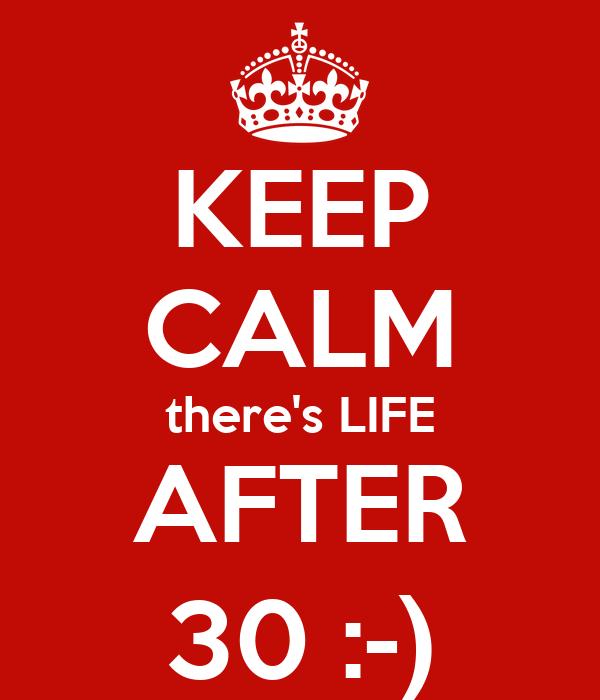 Image result for life after 30