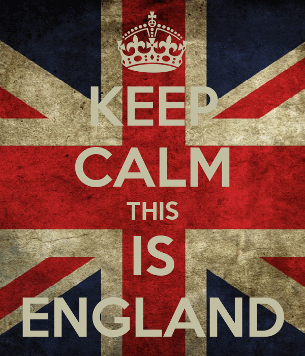 KEEP CALM THIS IS ENGLAND