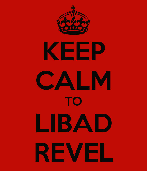 KEEP CALM TO LIBAD REVEL