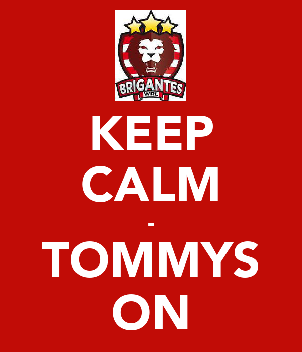 KEEP CALM - TOMMYS ON