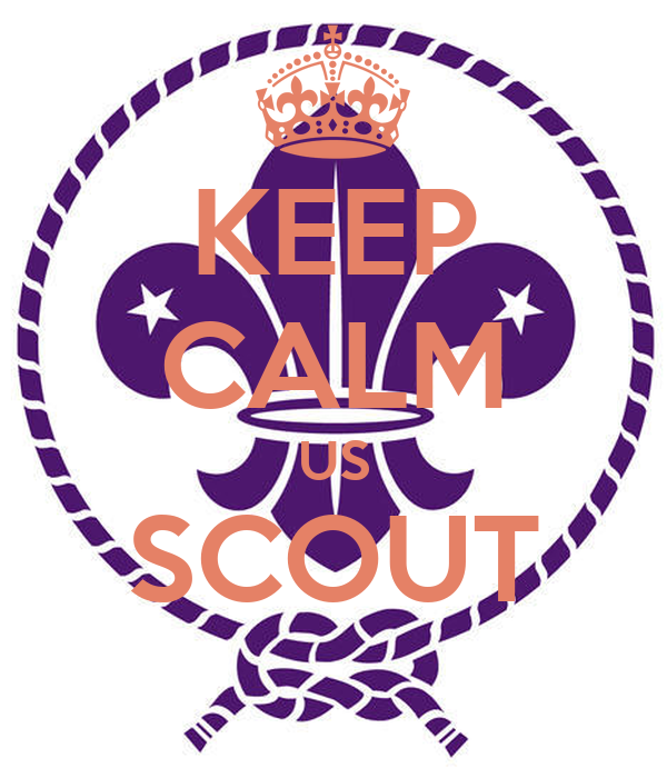 KEEP CALM US SCOUT