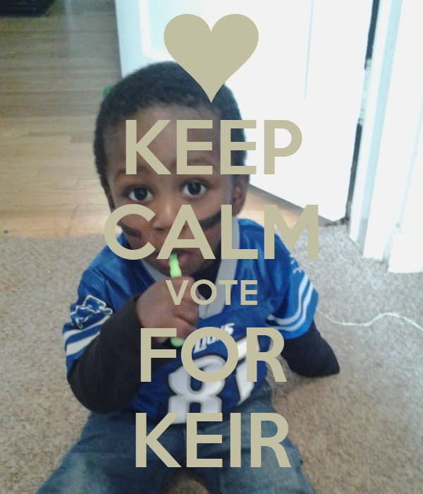KEEP CALM VOTE FOR KEIR
