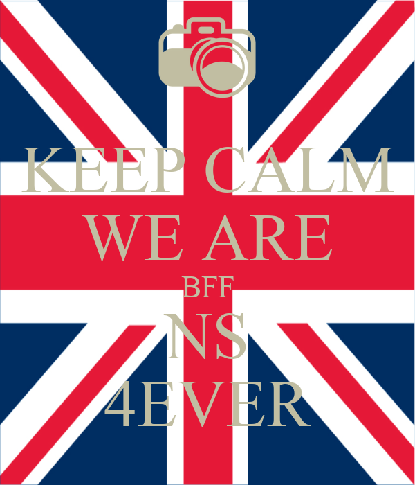 KEEP CALM WE ARE BFF NS 4EVER