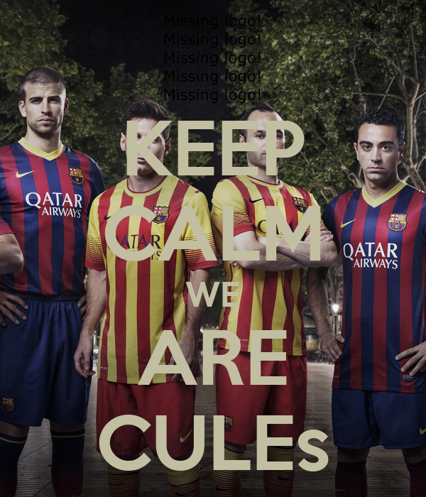 KEEP CALM WE ARE CULEs