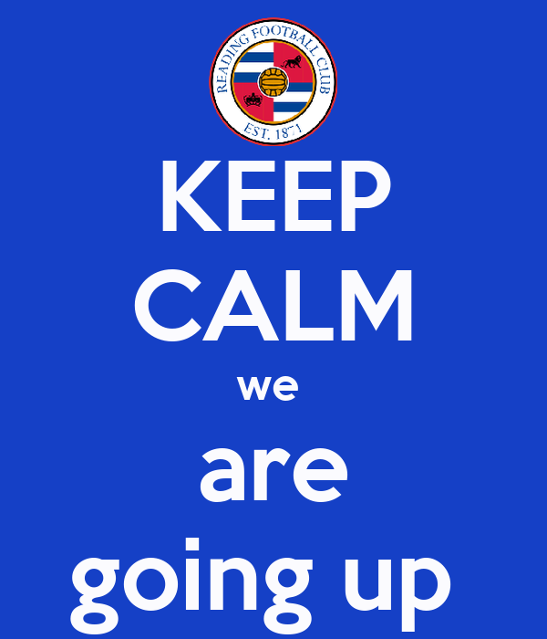 KEEP CALM we  are going up