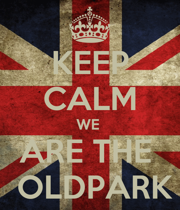 KEEP CALM WE  ARE THE   OLDPARK