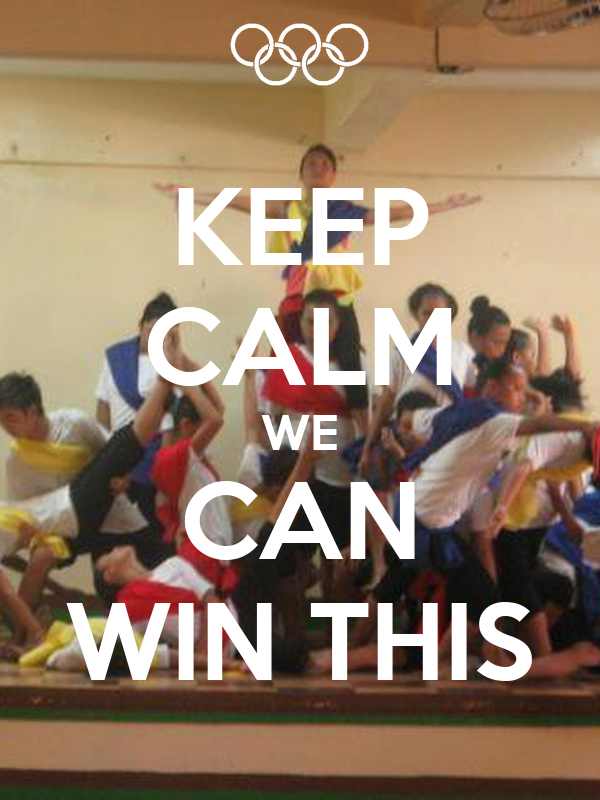 KEEP CALM WE CAN WIN THIS