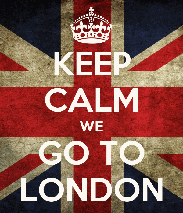 KEEP CALM WE GO TO LONDON