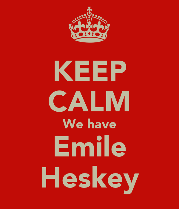KEEP CALM We have Emile Heskey