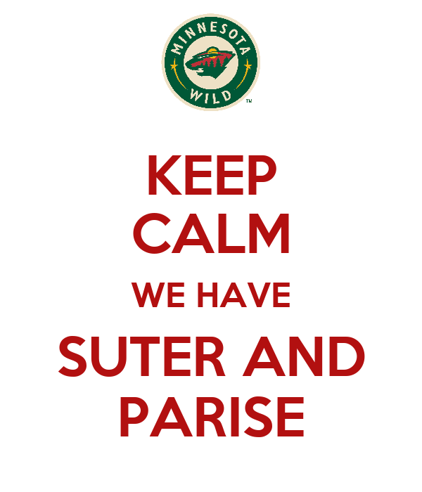 KEEP CALM WE HAVE SUTER AND PARISE
