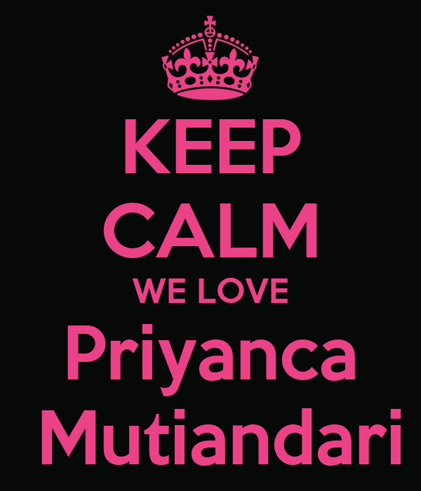 KEEP CALM WE LOVE Priyanca  Mutiandari