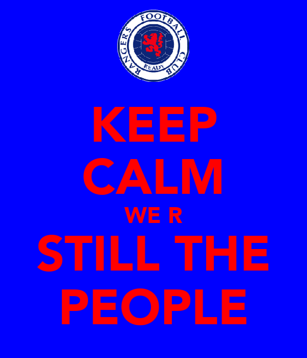 KEEP CALM WE R STILL THE PEOPLE