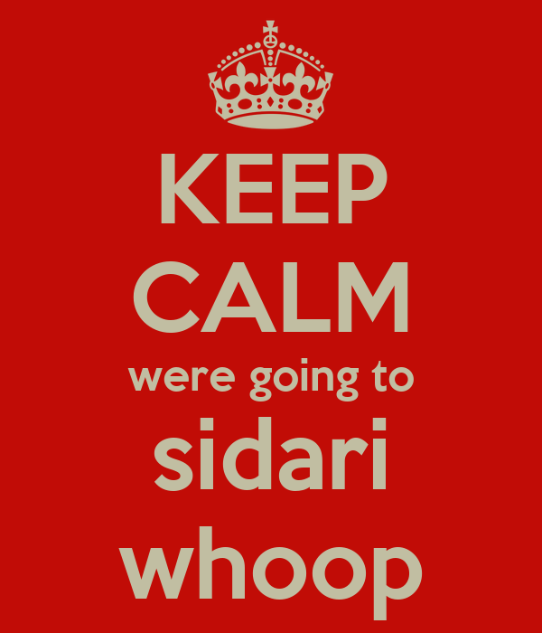 KEEP CALM were going to sidari whoop