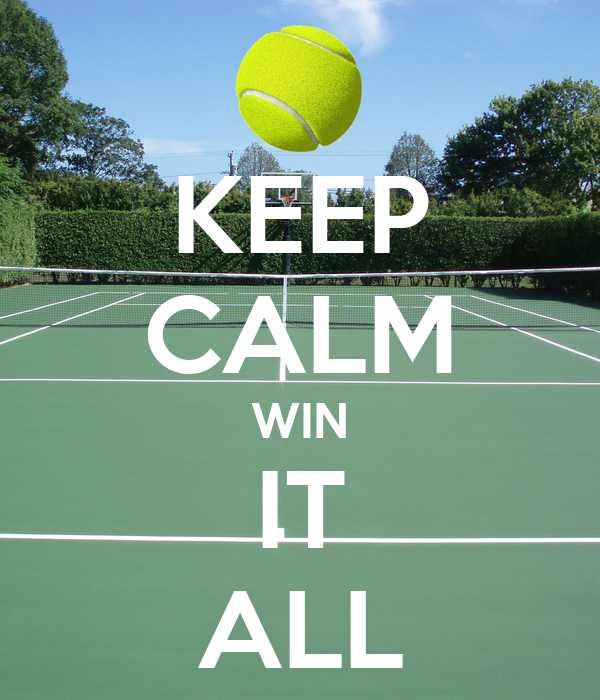 KEEP CALM WIN IT ALL