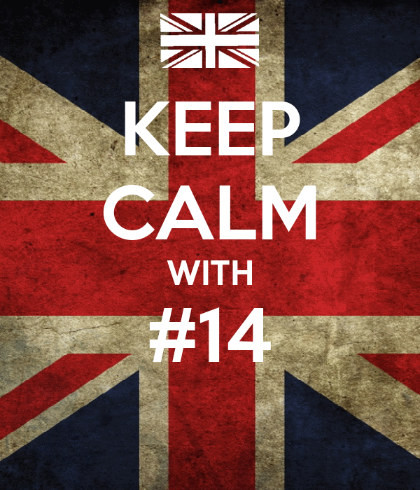 KEEP CALM WITH #14