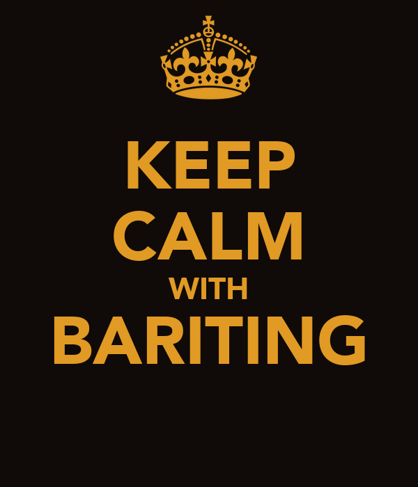 KEEP CALM WITH BARITING