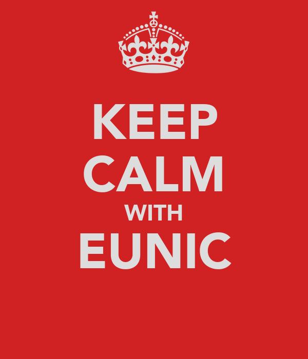 KEEP CALM WITH EUNIC