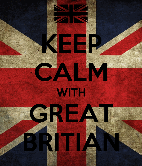 KEEP CALM WITH GREAT BRITIAN