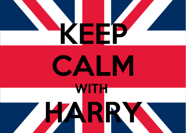 KEEP CALM WITH  HARRY STYLES