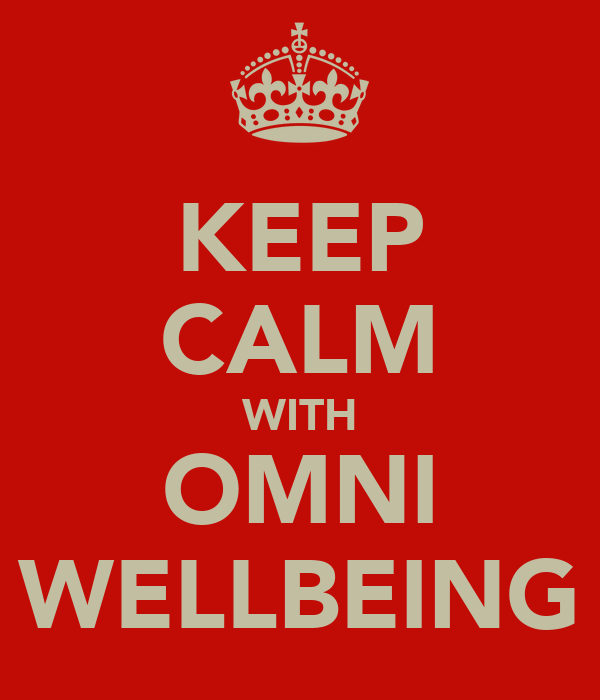 KEEP CALM WITH OMNI WELLBEING