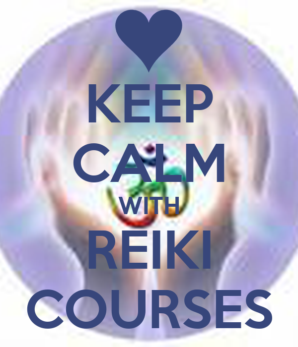 KEEP CALM WITH REIKI COURSES