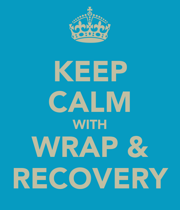 KEEP CALM WITH WRAP & RECOVERY