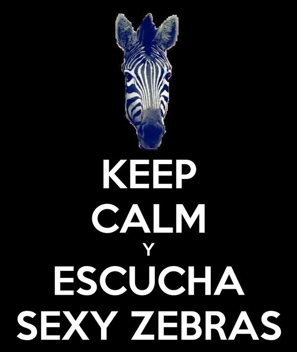 KEEP CALM Y ESCUCHA SEXY ZEBRAS