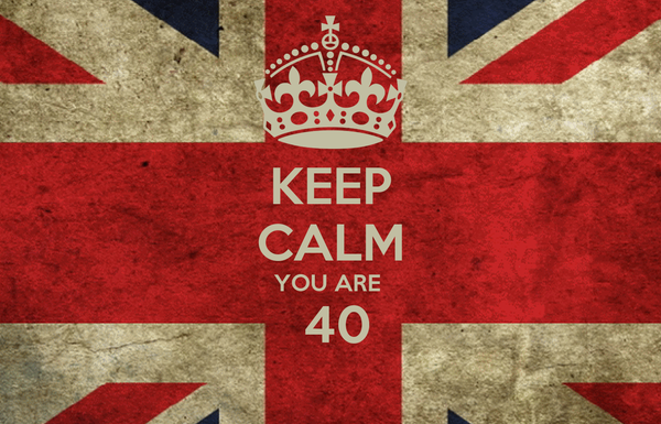 KEEP CALM YOU ARE   40