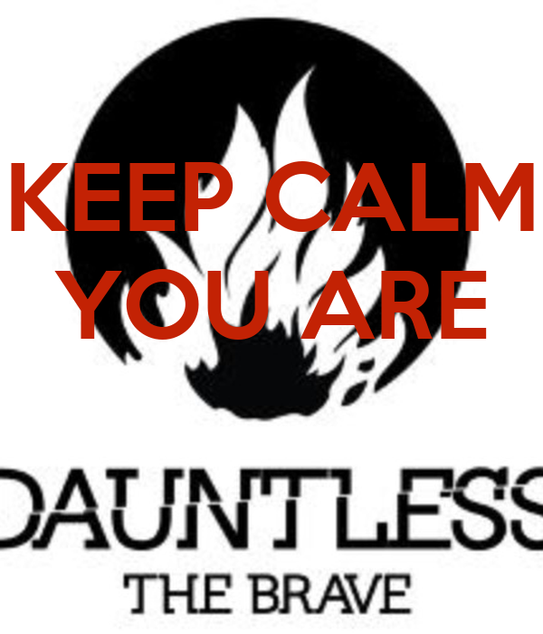 KEEP CALM YOU ARE