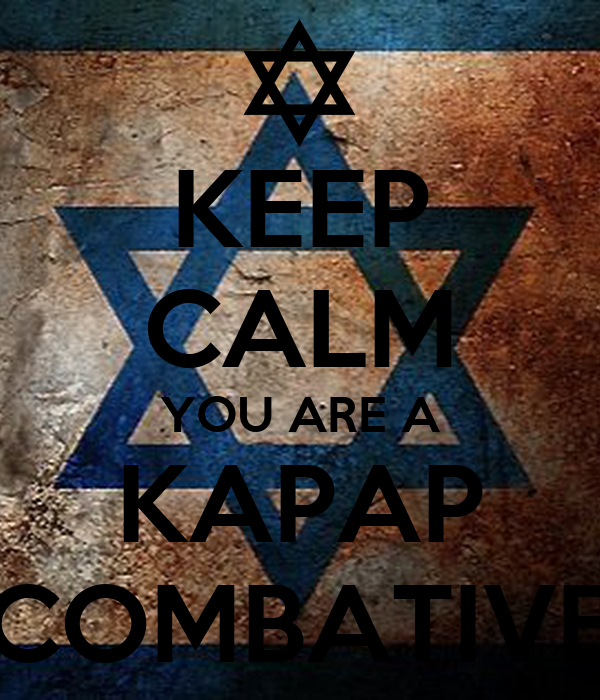 KEEP CALM YOU ARE A KAPAP COMBATIVE