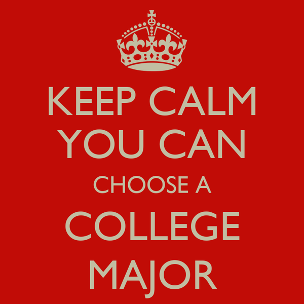 selecting a college major