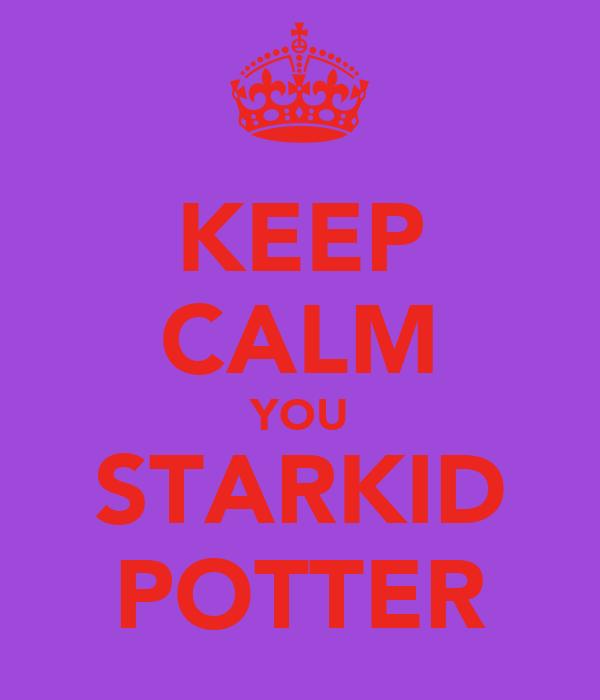 KEEP CALM YOU STARKID POTTER