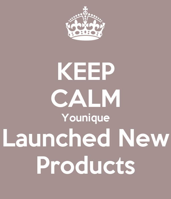 KEEP CALM Younique Launched New Products