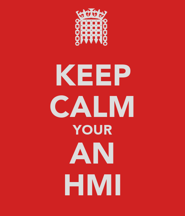 KEEP CALM YOUR AN HMI