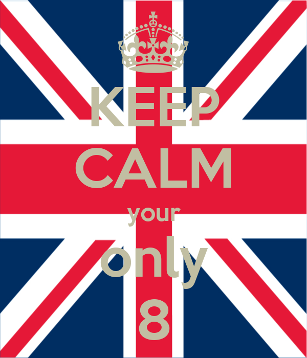 KEEP CALM your only 8
