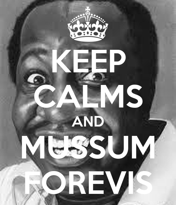 KEEP CALMS AND MUSSUM FOREVIS