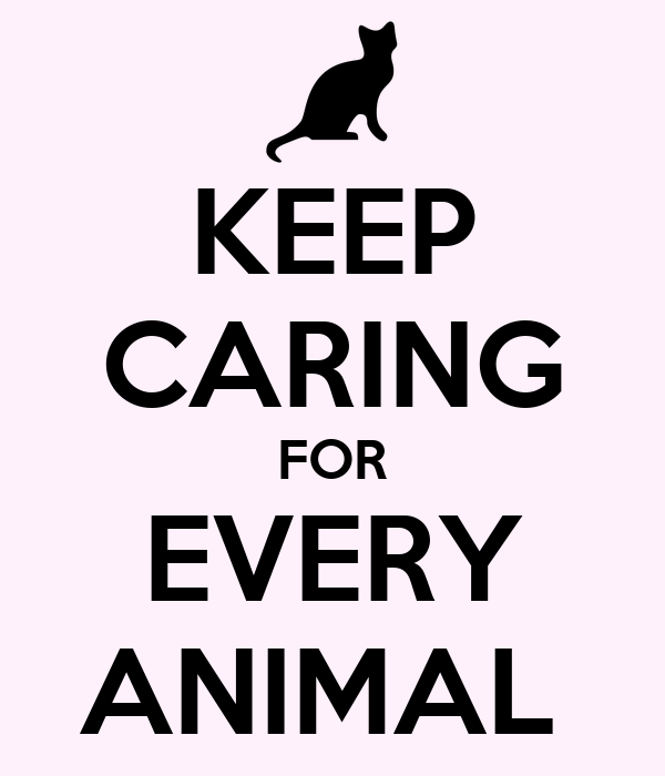 KEEP CARING FOR EVERY ANIMAL