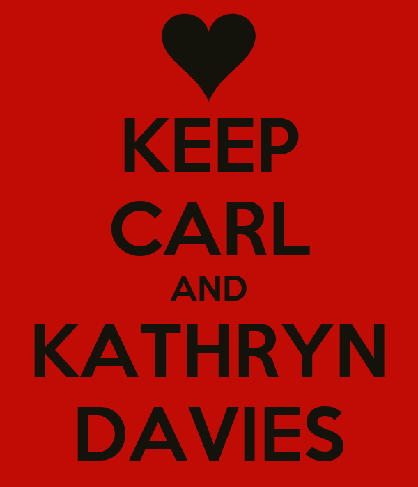 KEEP CARL AND KATHRYN DAVIES