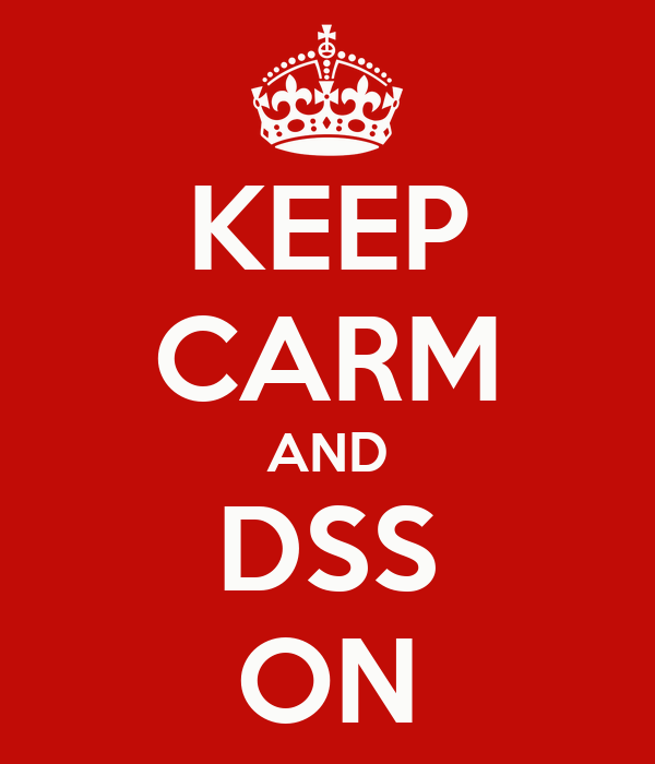 KEEP CARM AND DSS ON