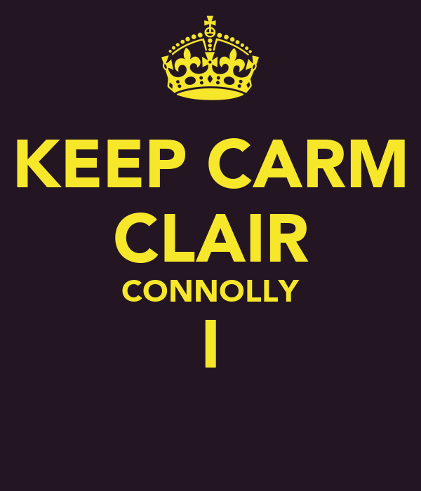 KEEP CARM CLAIR CONNOLLY I