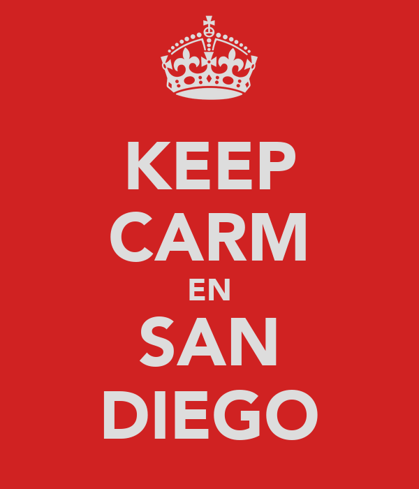 KEEP CARM EN SAN DIEGO