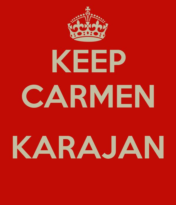 KEEP CARMEN  KARAJAN