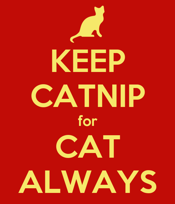 KEEP CATNIP for CAT ALWAYS